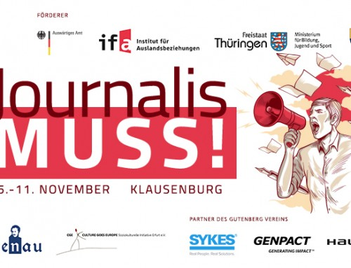 ",,JournalisMuss""– Camp international ,,Mass-Media"""