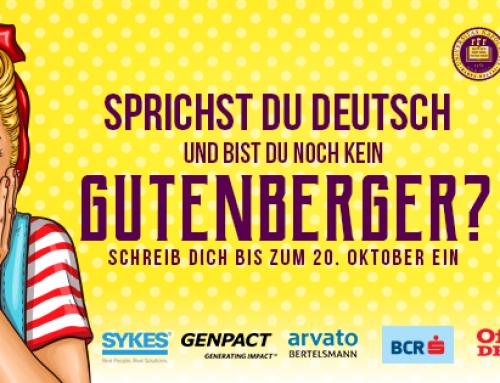 Gutenberg Studentenverein Klausenburg Rekrutiert!