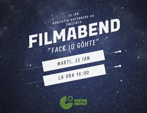 Projekt Jugendverein Piatra Neamt – Filmabend