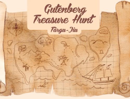 Gutenberg Treasure Hunt – Targu Jiu