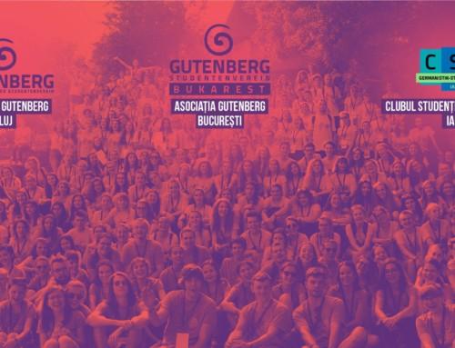 Gutenberg susține Olimpiada de Limba Germană Modernă