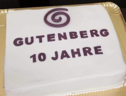 10 Jahre Gutenberg Gala 2019