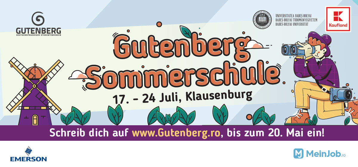 Gutenberg Sommerschule 2019
