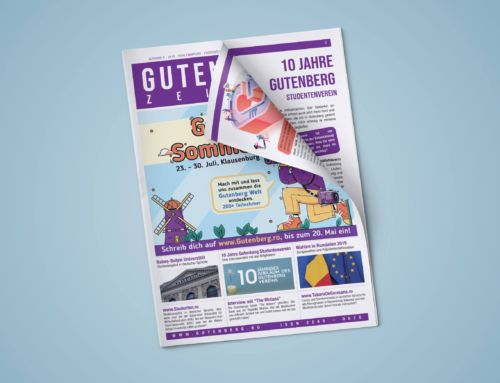 A apărut ziarul Gutenberg!