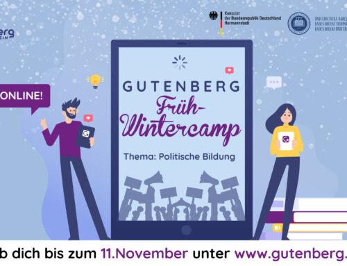 Gutenberg Frühwintercamp 2020