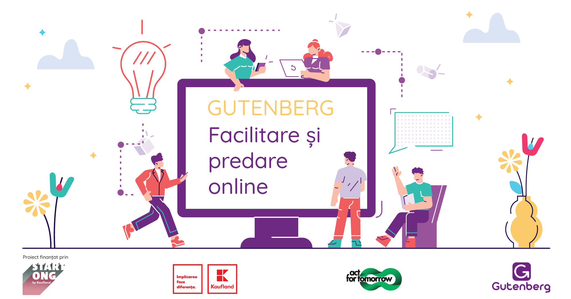 Training Of Online Trainers - Facilitare și predare online